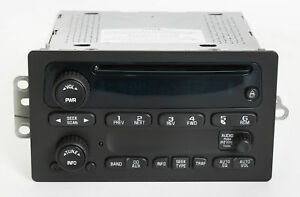 2003 2005 Chevy Gmc Truck Am Fm Radio Factory Oem Cd Player Part Number 10357894