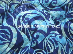 New Ocean Waves Quilted Hawaiian Car Seat Covers 2 Piece