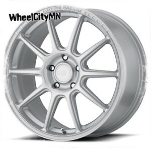 17 Inch Hyper Silver Motegi Racing Rims Mr140 Fits Nissan Altima Sentra 5x4 5
