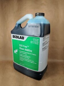 Ecolab Rinse Additive R o Free 17532 Industrial Dish Dishes Rinse Restaurant 5qt