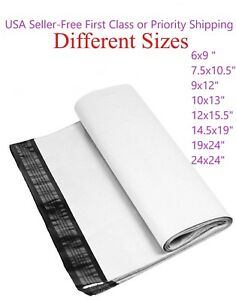 Poly Mailers Plastic Envelopes Shipping Bags 6x9 7 5x10 5 9x12 10x13 12x15 5