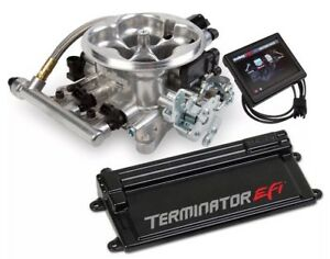 Holley Performance 550 407 Terminator Efi Throttle Body Kit With Trans Control