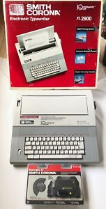 Smith Corona Xl2900 Portable Electronic Typewriter Intelligently Quiet With Box