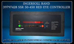 39797428 39180419 Ingersoll Rand Ssr 50 450 Redeye Controller With Warranty
