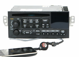 1995 2002 Chevy Car S10 Truck Radio Am Fm Cd W Aux Input On Pigtail 15071662