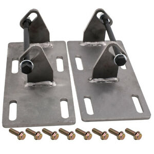 2pcs For Chevrolet C10 Ls Lsx Engine Swap Conversion Engine Motor Mount