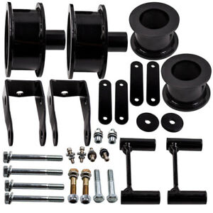 Front Rear 3 Lift Kit For Jeep Wrangler Jk Lift Spacers 2009 2010 2011 12 18