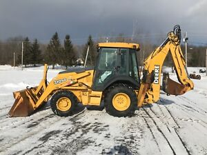 2003 John Deere 310sg Loader Backhoe 4x4