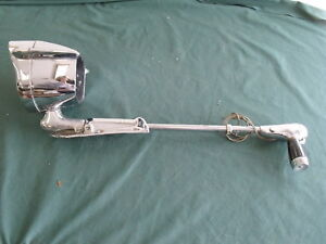 1959 Ford L H Spotlight With Bracket Oem 59 Fomoco