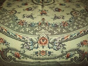 Vintage Belgian Tapestry Table Cloths Throws