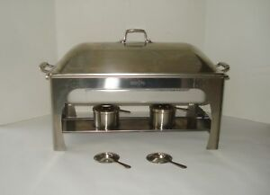 Tramontina Gastroform Nsf Cater Serving Buffet Stainless Tabletop Chafing Dish