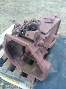 International 574d Tractor Transmission Complete