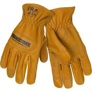 New Youngstown Fr Kevlar Lined 43 Cal Ground Work Gloves Small