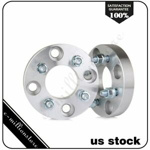 2pcs 1 Adapter 4x4 5 To 4x100 12x1 5 Wheel Spacers For 1964 1968 Ford Mustang