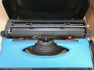 Brother Correct o riter V 4712l Apb Blue Typewriter In Excellent Cond
