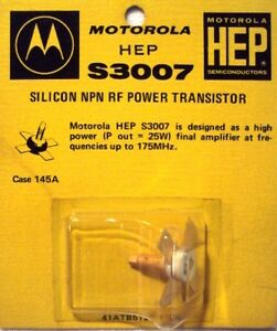 Motorola Hep Silicon Npn Rf Power Transistor Various Ratings Available