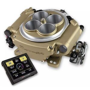 Holley 550 516 Sniper Efi Self tuning Classic Gold Throttle Make Us An Offer