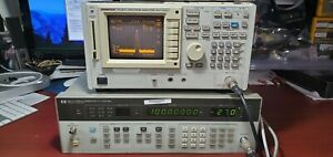 Hp Agilent Keysight 8657a Signal Generator 0 1 1040mhz Tested Option 001