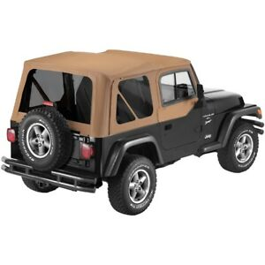 51124 37 Bestop Replace A Top With Door Skins Spice For Jeep Wrangler 1997 2002