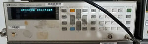 Hp Agilent Keysight 3324a 21mhz Synthesized Function sweep Generator Tested