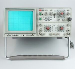 Hameg Hm303 Oscilloscope 30mhz 2 Dual Channel Vintage Germany
