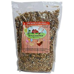 Chicken Fun doo Mealworms Non gmo Soy free Treat Premium Poultry Worm
