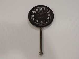 Large 1920 s Waltham 8 Day Dash Clock For Parts Restore Packard Studebaker