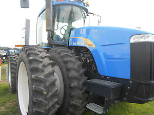 2011 New Holland T9020 Tractor Deluxe Cab 4wd 1000 Pto Sn Zbf212228