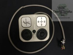 Adec Decade 1020 1021 Dental Chair Foot Control Oem Part 61 2039 00