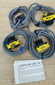 Lot Of 4 Banner Photoelectric Sensor Switch Power Block Base Opbt2