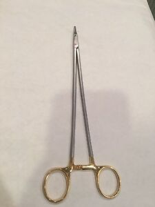 Aesculap Needle Holder Surgical Bm076r Stainless