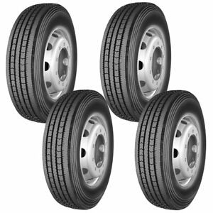 4 X Commercial Truck Tires 245 70r19 5 135 133m 16 Ply All Position Tires New