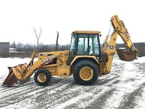 1996 John Deere 310d Loader Backhoe 4x4