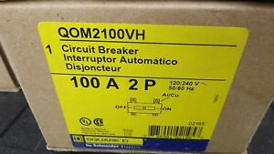 Square D Qom2100vh Main Breaker New In Box