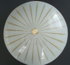 Vintage Atomic Shade Ceiling Light Lamp 50 S 60 S Ranch Mid Century Modern
