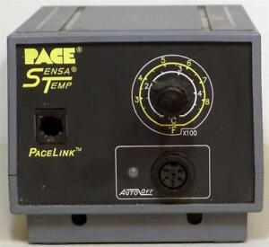 Pace Pps 15a Sensatemp Soldering Station very Good Condition Working Order