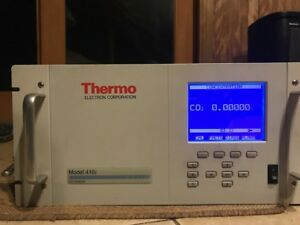Thermo Scientific 410i Anpdcb Co2 Analyzer Used Carbon Dioxide Tester Up To 25