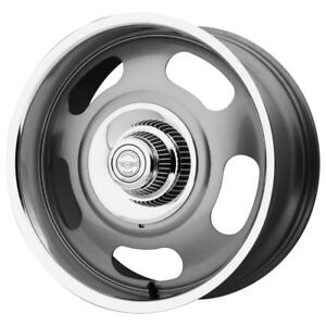 20 Inch 20x8 American Racing Vn506 Rally 5x4 75 5x5 0 Gunmetal Wheel Rim