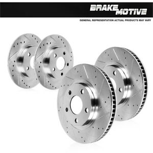 Front And Rear Brake Disc Rotors Kit For 1993 1995 Acura Legend Gs Sedan Coupe