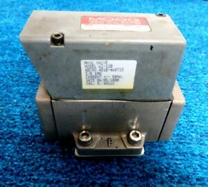 Moog Servo Valve 3 Model No 62 120 Wdc No 4810 460725
