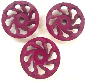 3 Pack 4 1 2 Diamond Cup Wheel For Masonry Faces And Concrete 4 5