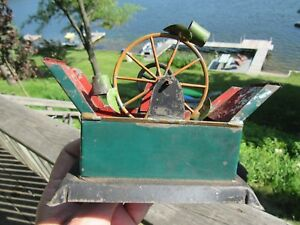Antique Original Bing Toys Water Wheel For Toy Steam Engine Ext Rare