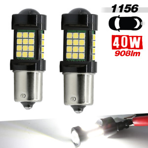 1156 1156st 2 Bulb High Power Bright White Led For Reverse Back Up Lights Bulbs