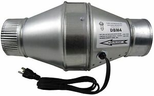 Tjernlund Duct Booster Fan Model Dbm4