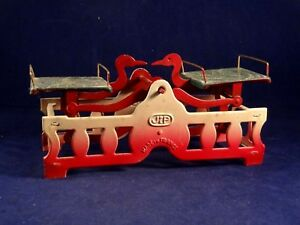Very Rare Vintage 1920s Tin Toy Child S Market Play Scale Jep France