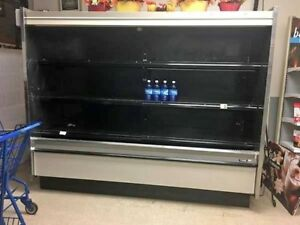 Tyler Commercial Open Lighted Refrigerated Produce Display Merchandiser