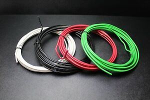 8 Gauge Thhn Wire Stranded Pick 3 Colors 50 Ft Each Thwn 600v Copper Cable Awg