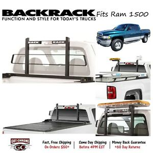 15005 Backrack Black Original Headache Rack Fits Dodge Ram 1500 1994 2001