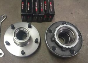 S10 Spindle Brake Swap C5 C6 Corvette Conversion 82 04 S10 Pickup Hub Kit