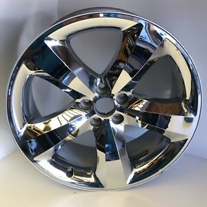 2011 2012 2013 2014 Dodge Challenger 20 Inch Chrome Wheel 20x8 Rim 1nq47trmaa